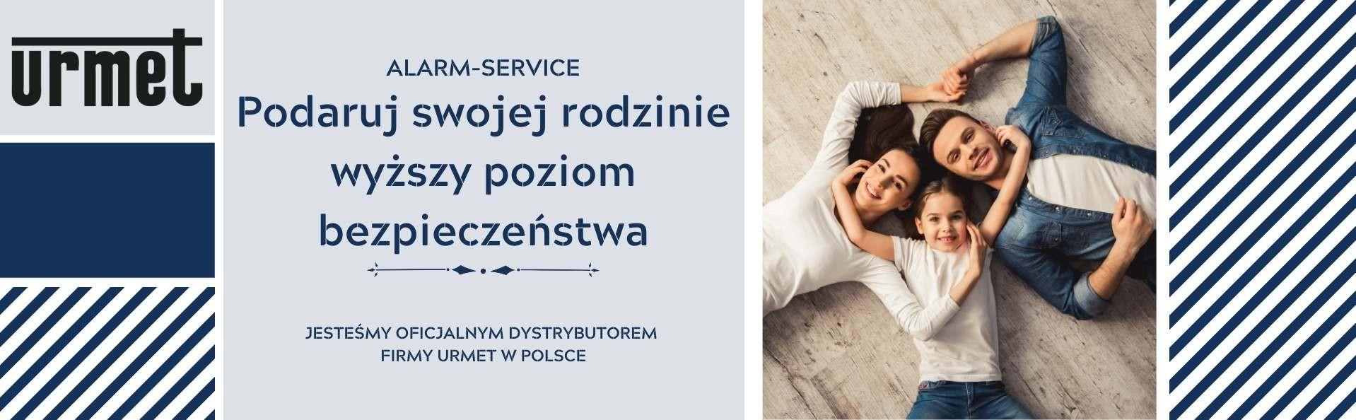 Z nami jesteś bezpieczny - Alarm-Service